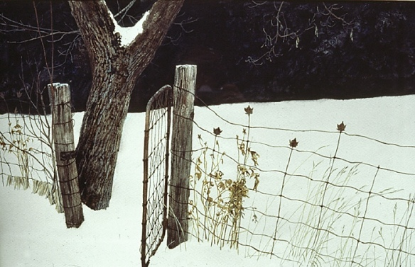 Robert Bateman Maple Leaf Fence painting