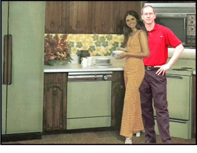 Avocado green and the power of suggestion meanwhile at for Kitchen design 70s