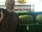 Raymond and the watermelons