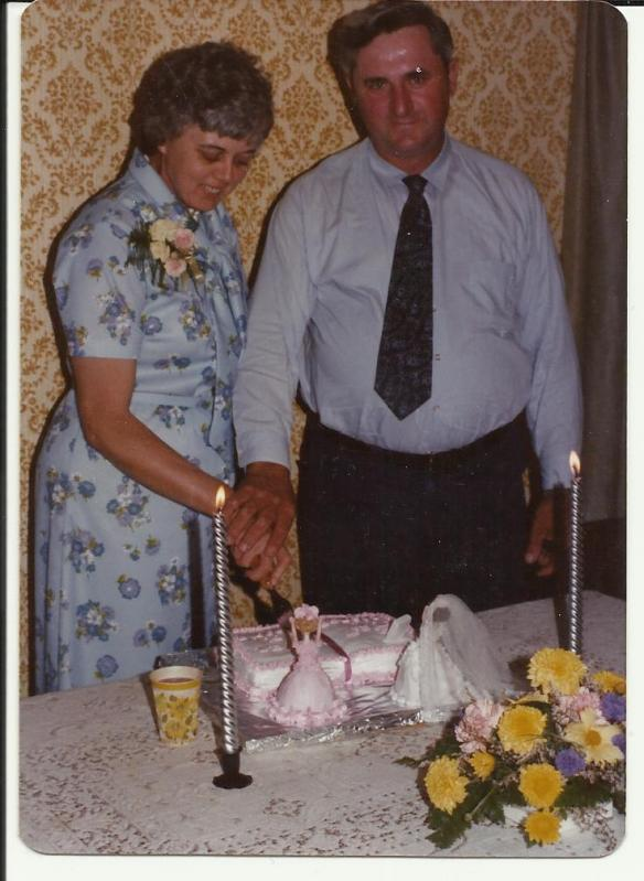 Bobbie and Allan Ramsay wedding