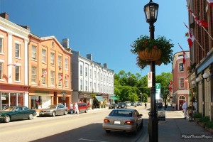 When it comes to Port Hope vs. Cobourg – well, I choose beautiful Port Hope every time. (Photo from northumberlandshoptalk.com