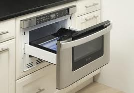 I am always annoyed by the space the microwaves take up, so of course I think having a drawer microwave is brilliant.