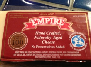 I bet you wish you were coming for cheese and crackers to my place tonight – because look what 's being served!