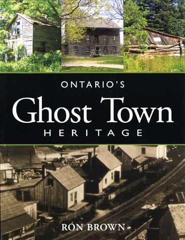 Ron Brown has written quite a few excellent books about the ghost towns of Ontario, and I believe this one is the most recent. Listed in the table of contents are Hastings County places like Eldorado, Corbyville and Millbridge – but not Queensborough (he's got that right) and not Elzevir – or, as it seems it used to be called, Johnson's Corners.