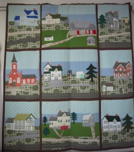 Goldie Holmes's Queensborough quilt