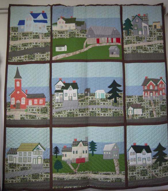 Goldie Holmes's Queensborough quilt
