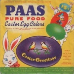 This is more like what PAAS kits looked like when my siblings and I were actually dyeing eggs with them, way back when.