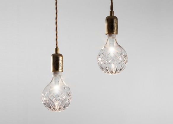 These beautiful Crystal Bulbs from Lee Broom were nominated for a Brirish Design Award in 2012. Doesn't that mean that half a dozen or so of them belong at the Manse? (Photo from  leebroom.com)