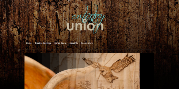 This is the beautiful, just-launched website Artistry in Union (artistryinunion.com) featuring the work of Queensborough artists Jen and Ed Couperus.