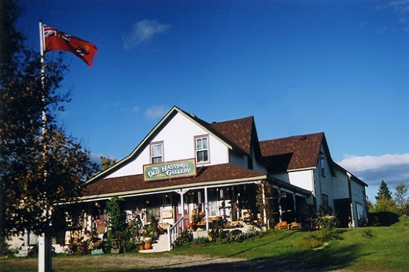 The Old Hastings Mercantile and Gallery: worth the drive to pretty little Ormsby! (Photo from Ontario's Highlands)