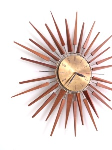 "Who wouldn't want a starburst clock? Didn't everybody's grandparents have one of them in their wood-panelled ""rump room""? (Photo from Revival Store)"