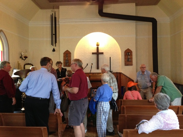 Anniversary service at the Old Ormsby Church