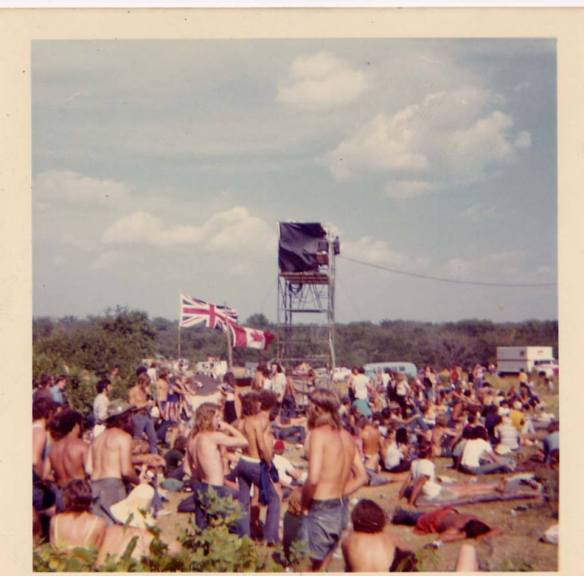 Rock Acres Peace Festival, Queensborough, Ont., 1971