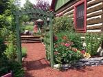 Flowered terrace, Tweed Garden Tour