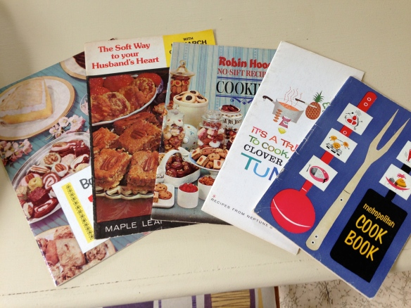 Vintage cooking brochures