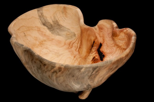 burled bowl by Ed Couperus