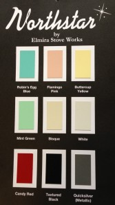 Northstar appliance colours