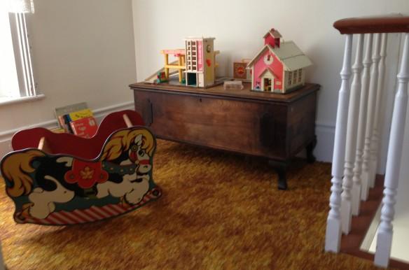 toy corner at the Manse
