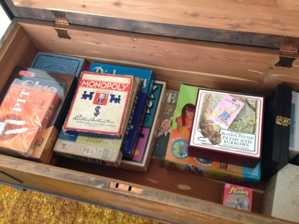 vintage games in the toybox