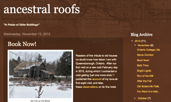 Ancestral Roofs