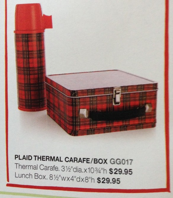 Crate and Barrel lunchbox