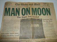 The Globe and Mail, Man on Moon
