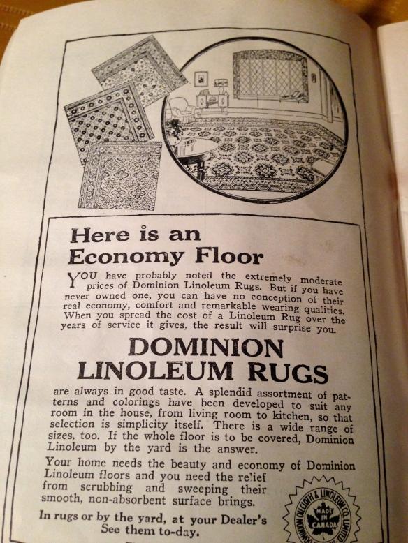 Dominion Linoleum Rugs