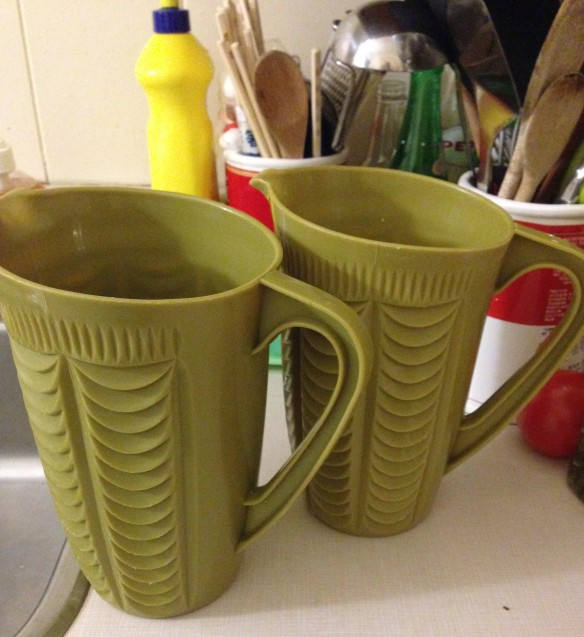 those old green jugs