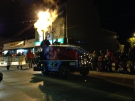 Zamboni in the Madoc Santa parade