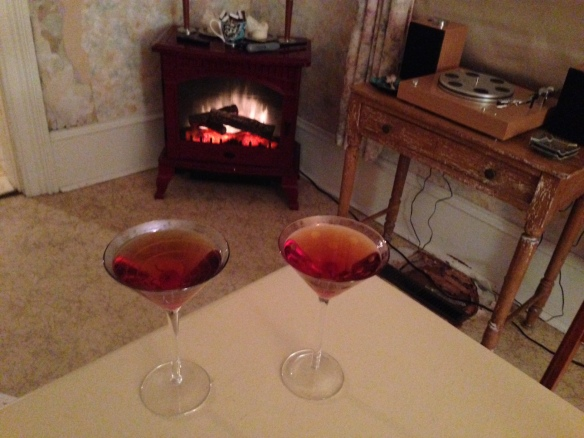 Manhattans on Friday night