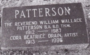 W.W. and Cora Patterson