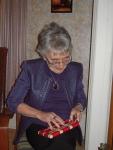 Lorna, Christmas 2012