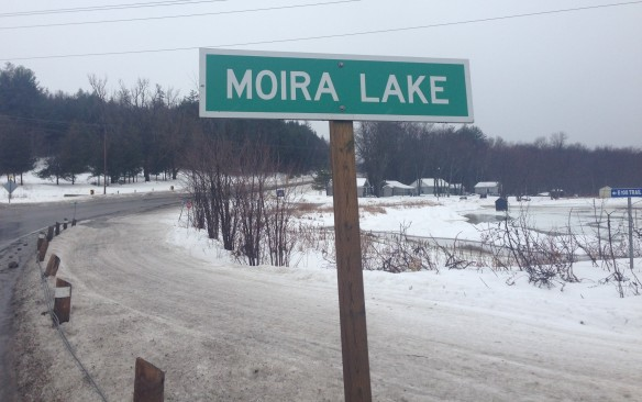 Moira Lake sign