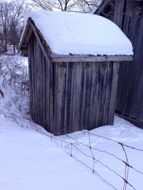 Mr. Kincaid's outhouse
