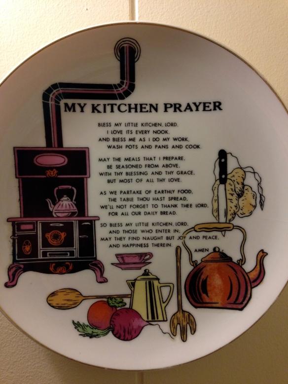 My Kitchen Prayer