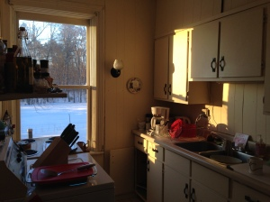 Sunny pantry February 2014