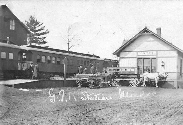 Madoc train station c. 1905