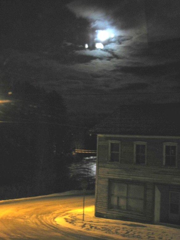 Moon over Queensborough