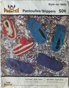 Phentex slippers pattern