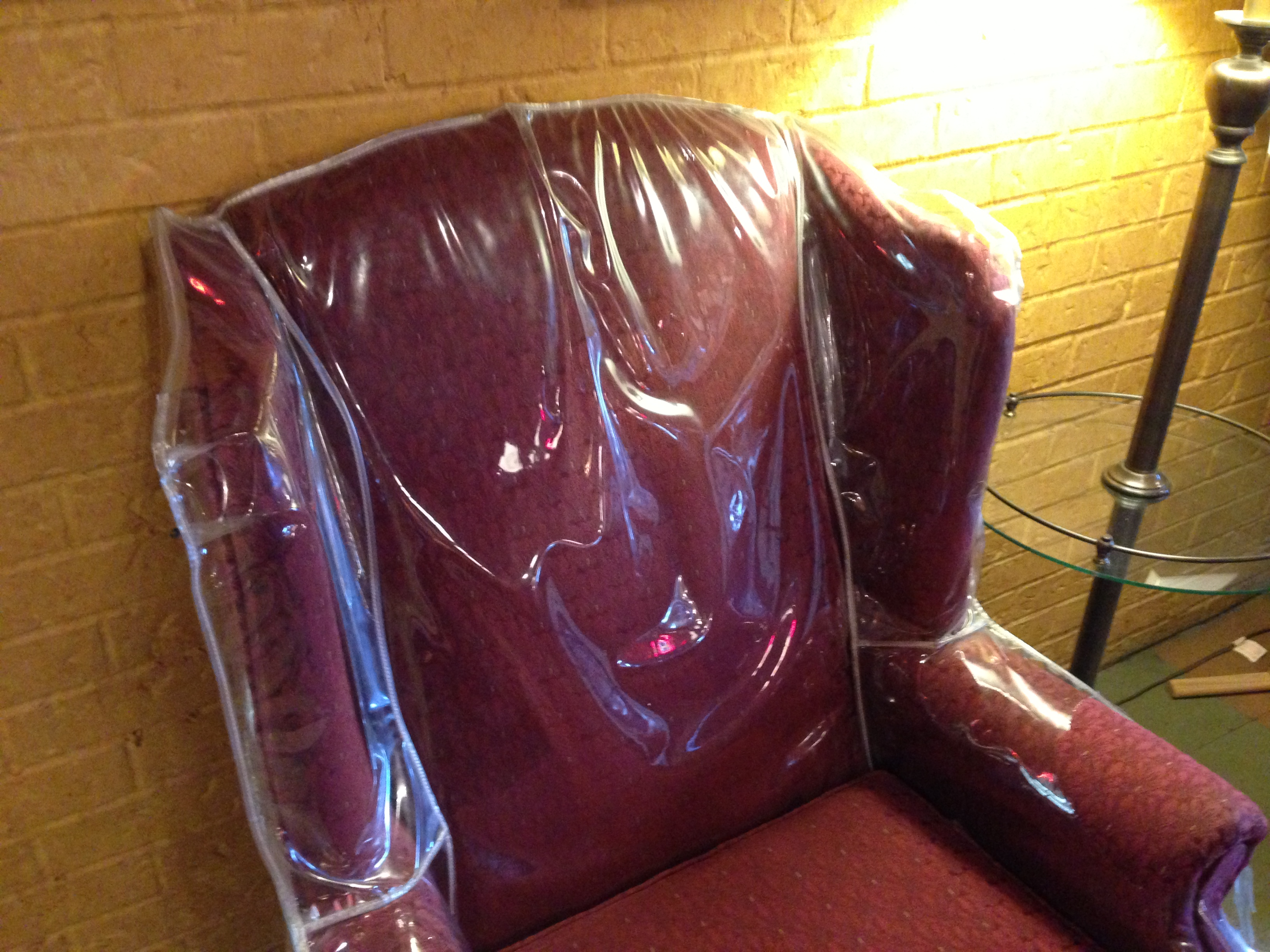 Do you remember plastic on the furniture