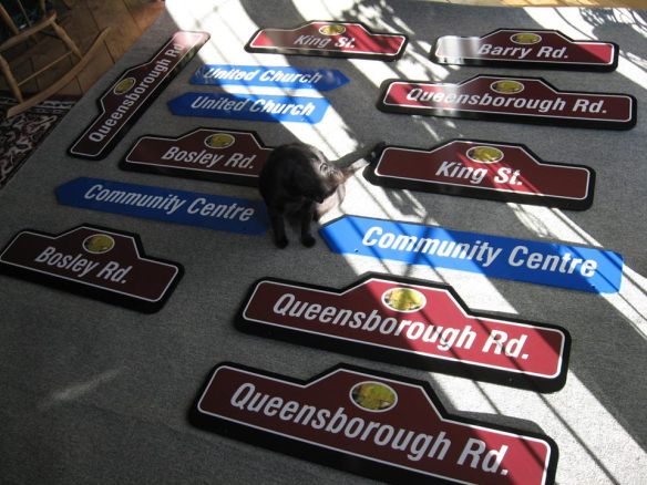 Queensborough street signs