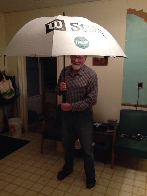 The umbrella we needed