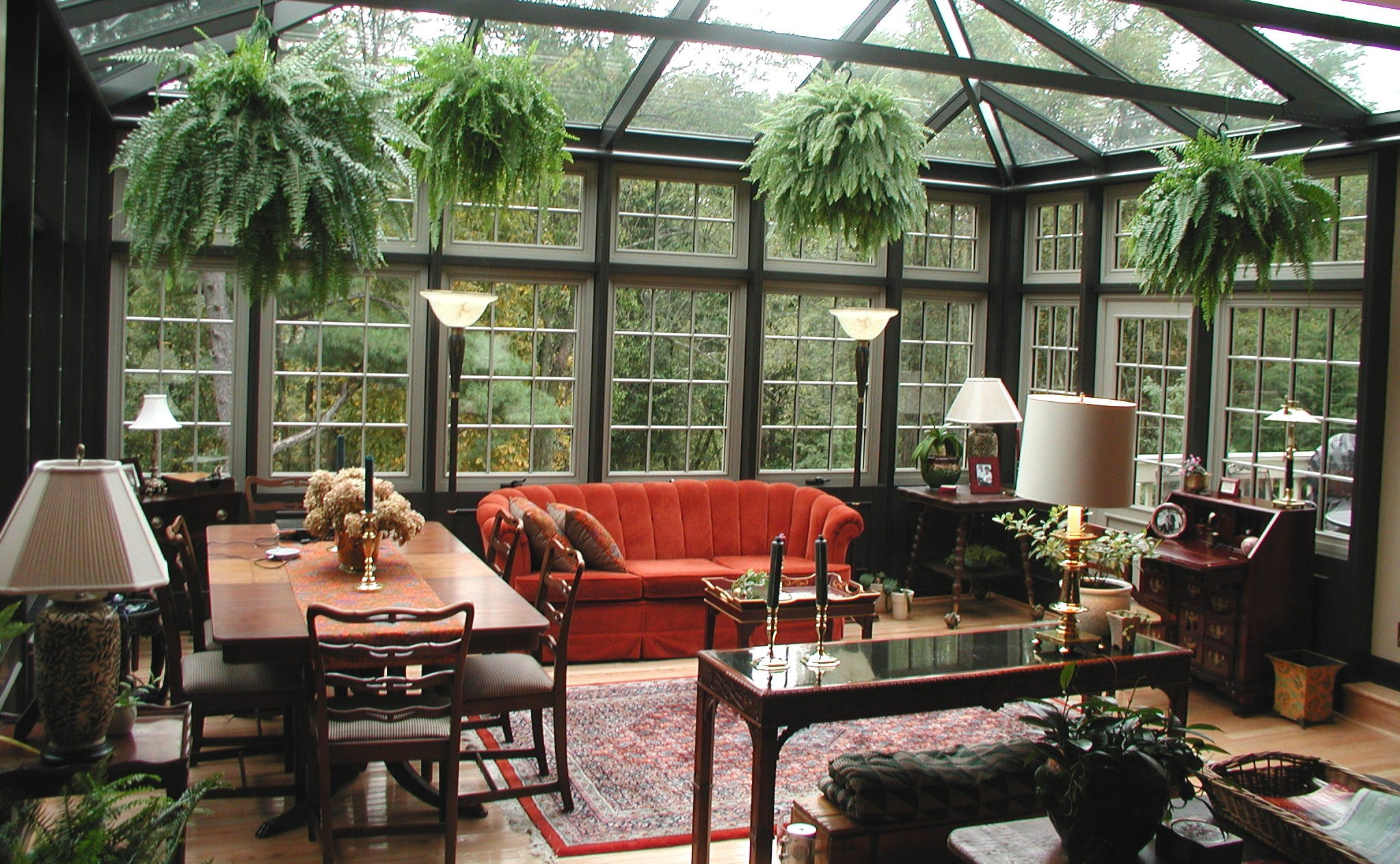 I Think The Manse Needs A Conservatory.