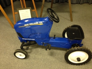 Mini New Holland tractor