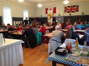 Pancake Breakfasters in Queensborough