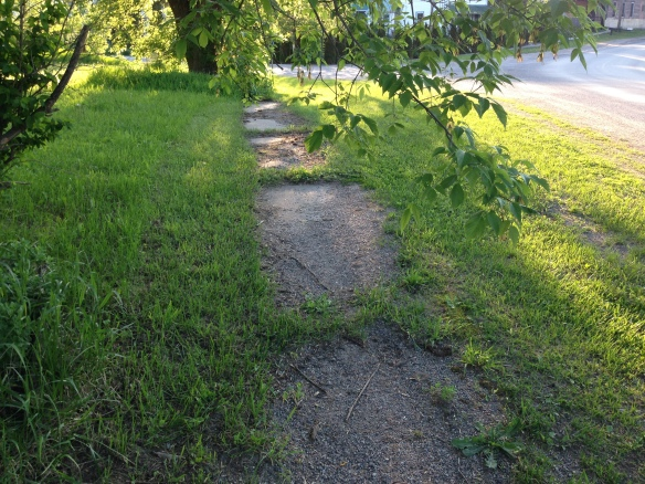 The old sidewalk, Queensborough