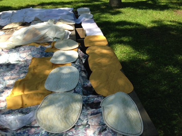 A-frame placemats