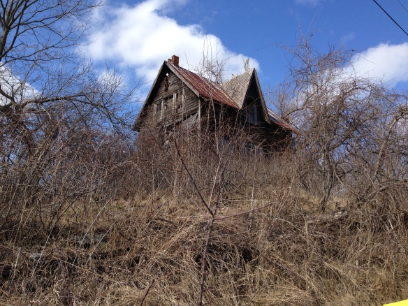 Abandoned house on Tannery Road