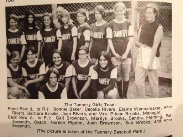 Tannery girls team