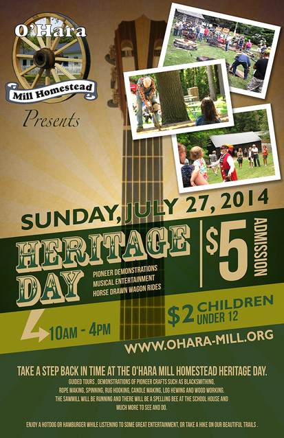 O' Hara Mill Heritage Day 2014
